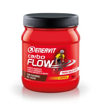 Image of Enervit Carbo Flow Cacao Integratore Alimentare 400g 927042869