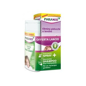 Paranix Promo Trattamento Spray 100ml + Shampoo Post Trattamento 100ml
