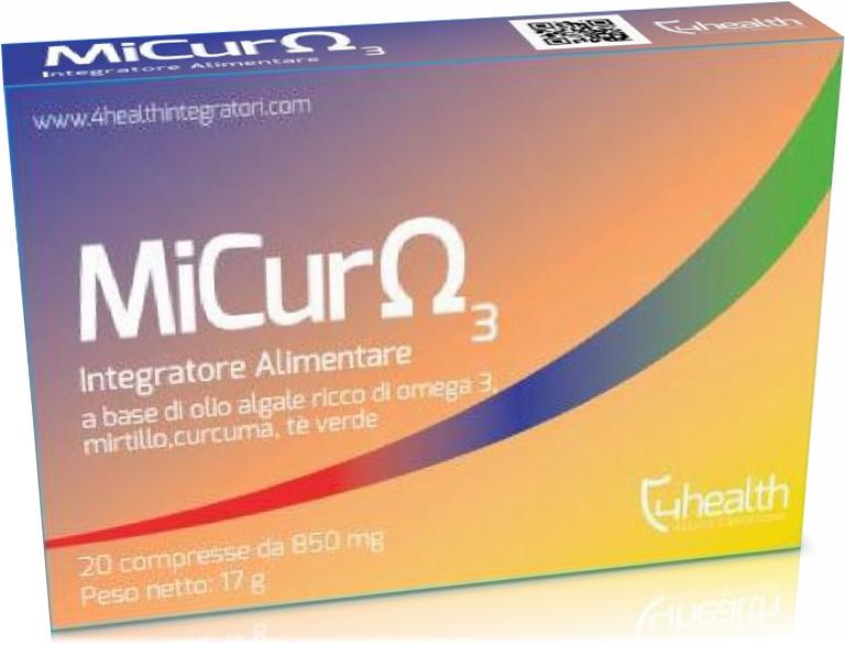 Image of 4 Health Micuromega3 Integratore Alimentare 20 Compresse Oftalmiche