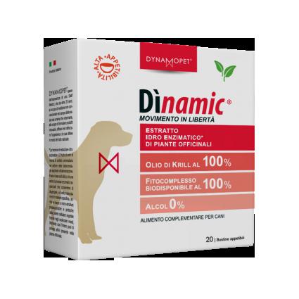 Image of Dynamopet Dìnamic Movimento In Libertà Integratore Alimentare 20 Bustine x2,5ml 927153344