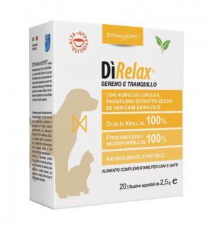 Image of Dynamopet DìRelax Sereno e Tranquillo Integratore Alimentare 20 Bustine x2,5ml 927153369