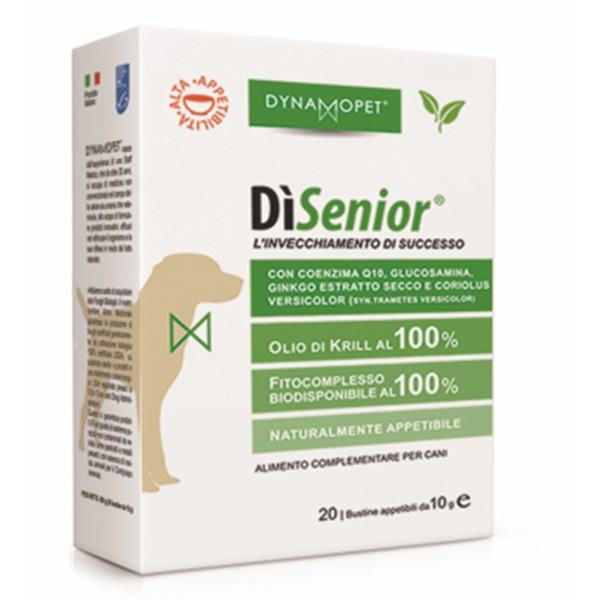 Image of Dynamopet DìSenior L'Invecchiamento di Successo Integratore Alimentare 20 Bustine x10ml 927153371