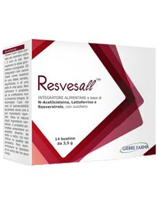 Image of Gierre Pharma Resvesall Integratore Alimentare 14 Bustine 49g 927169300