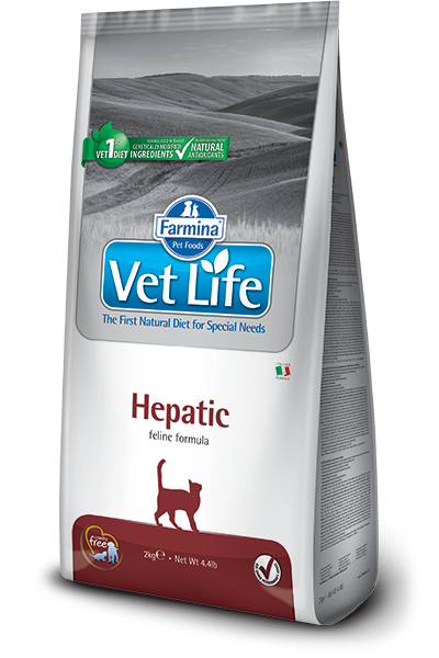 Image of Farmina Vet Life Feline Hepatic 2 Kg