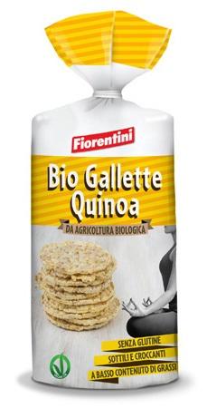 Image of Fiorentini Bio Gallette Alla Quinoa Senza Glutine 120g 927185266