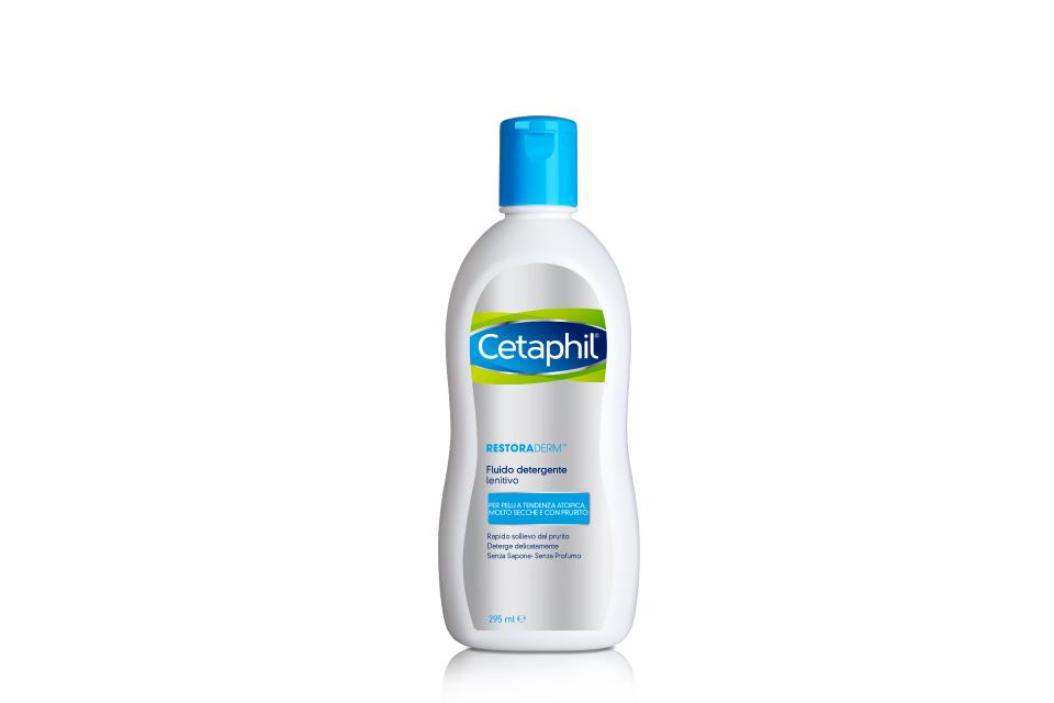 Cetaphil restoraderm fluido detergente lenitivo 295ml
