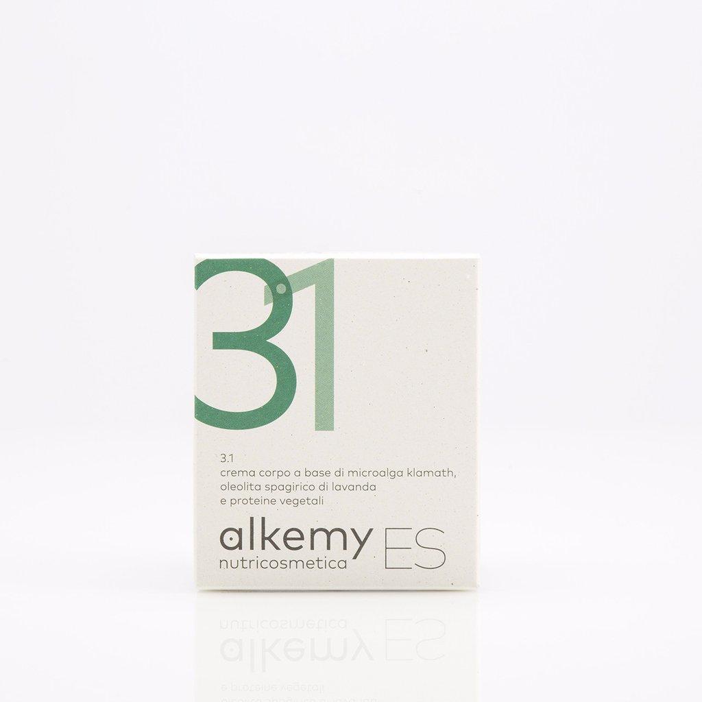 Image of Alkemy Es 3.1 Crema Corpo Ipernutriente A Base Di Microalga Di Klamath 100ml 927242281