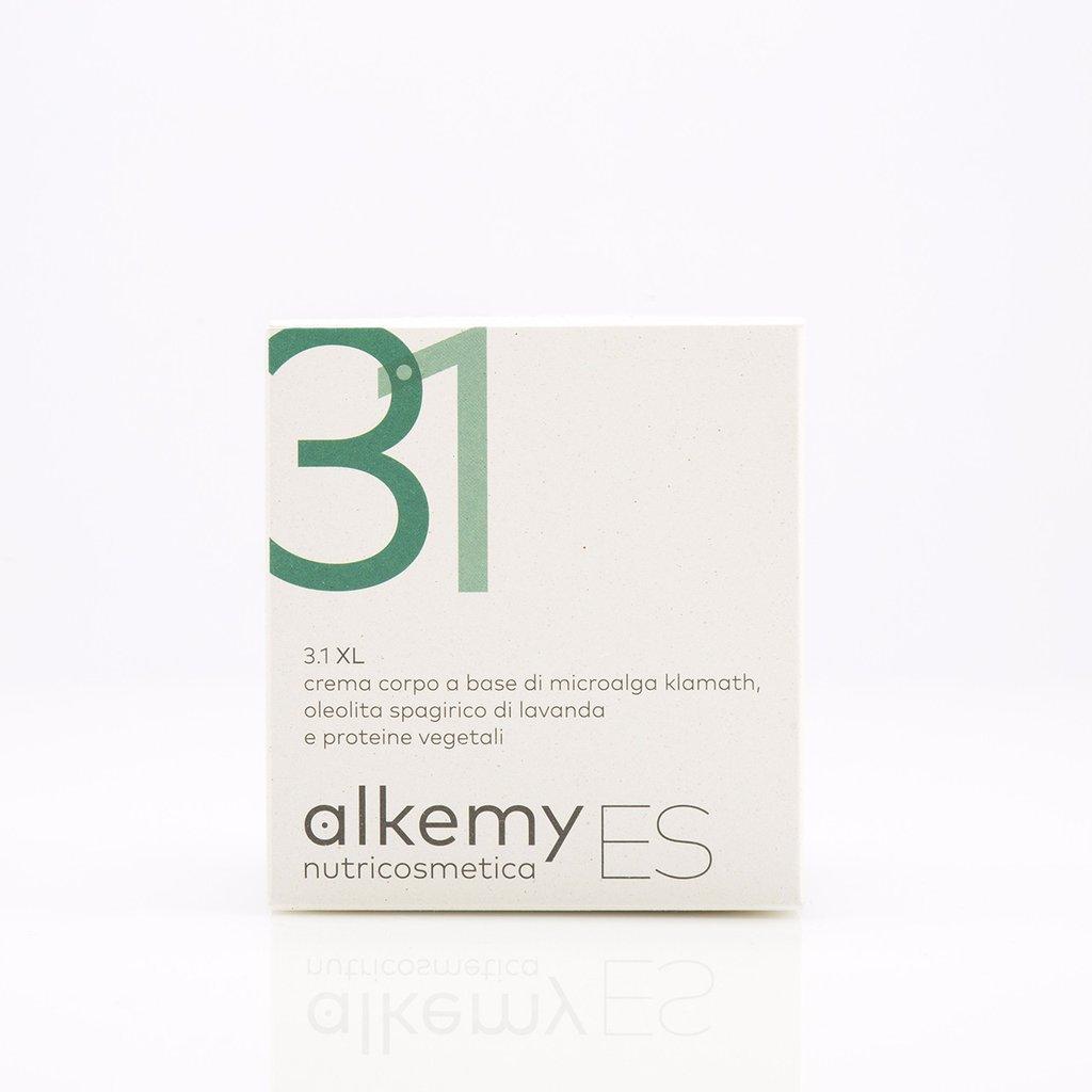 Image of Alkemy Es 3.1 Xl Crema Corpo Ipernutiente A Base Di Alga Di Klamath 250ml 927242293
