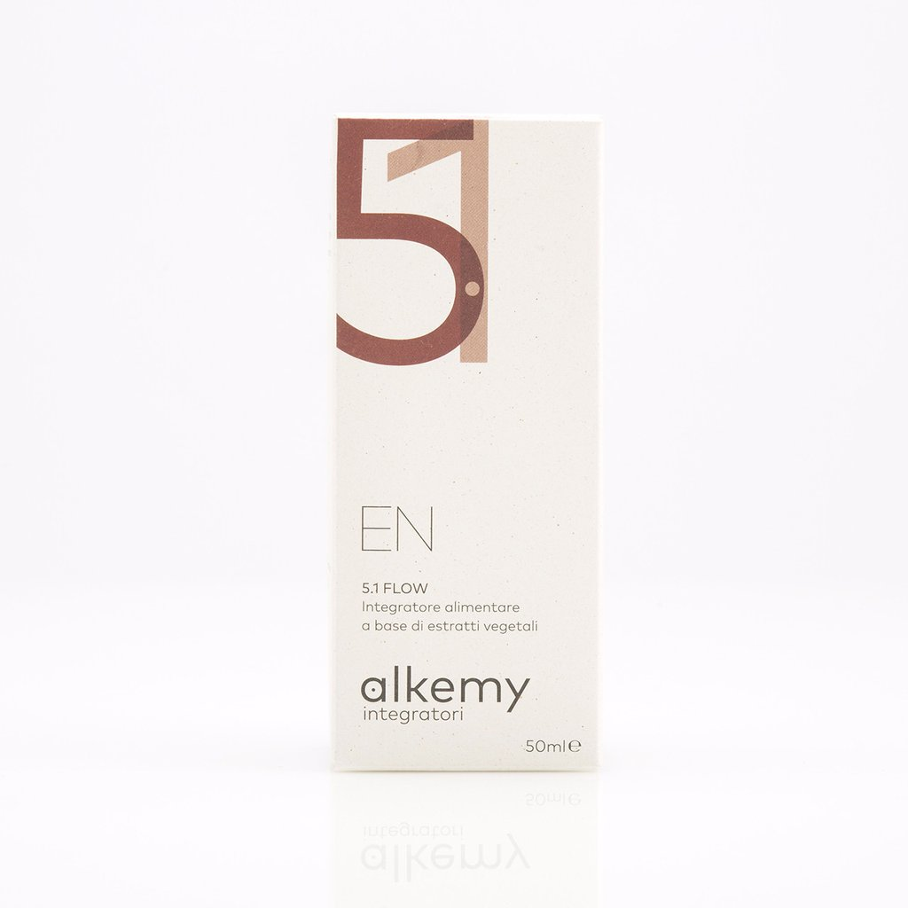 Image of Alkemy En 5.1 Flow Integratore Con Betulla Ad Azione Drenante 50ml 927242329