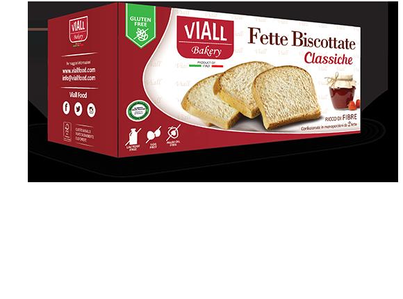 Viall Fette Biscottate Senza Glutine E Lattosio 200g