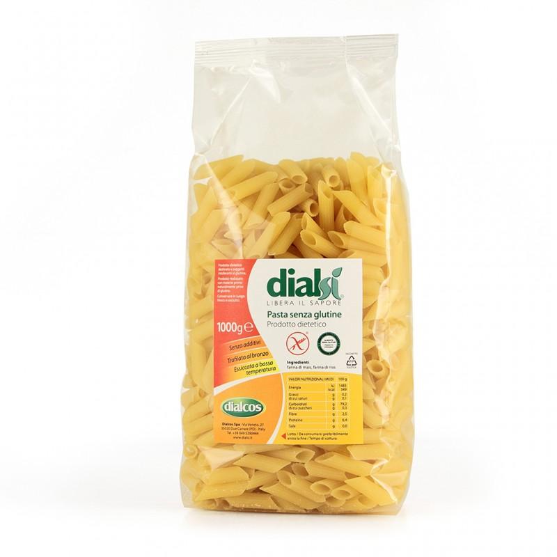 Image of DialSì Pasta Mais&Riso Penne Senza Glutine 1kg 927763060