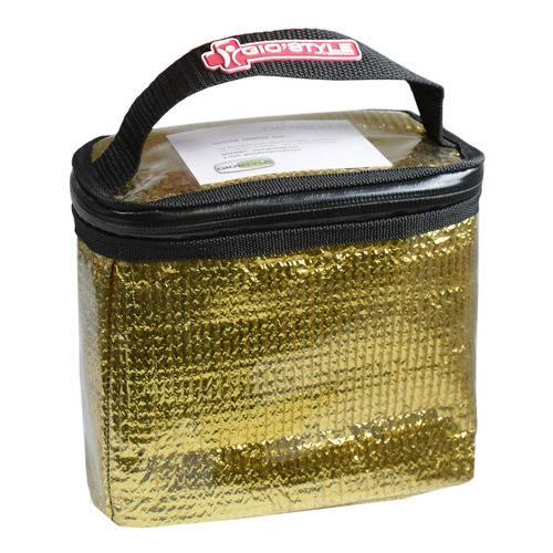 Image of Giostyle MediExecutive Cube Case Gold Taglia M 930050543