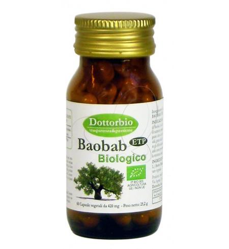 Image of DottoBio Baobab Integratore Alimentare 60 Capsule 930359031