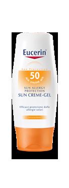 Image of Eucerin Allergy Protection Sun Creme-Gel Crema Solare FP 50 930400609