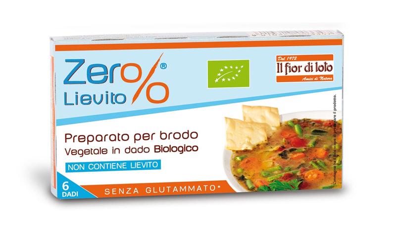 Zero% Vegetale Preparato Per Brodo Vegetale Senza Glutine 66g