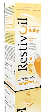 RestivOil Baby Olio Shampoo Azione Protettiva Ultra Delicata 250ml