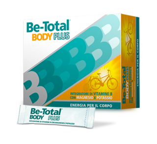 Be Total Body Plus Gusto Agrumi Integratore Alimentare 20 Bustine Orosolubili