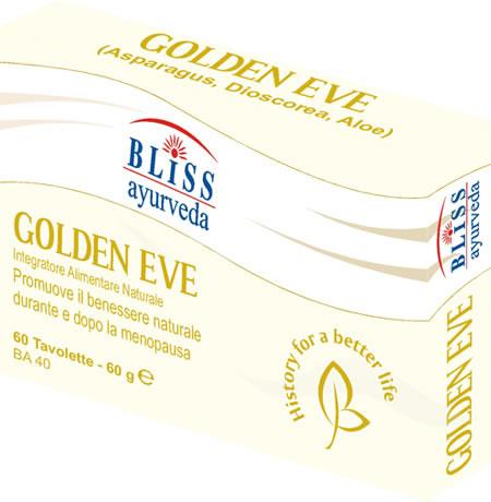 Image of Bliss Ayurveda Golden Eve Integratore Alimentare 60 Compresse 930967928