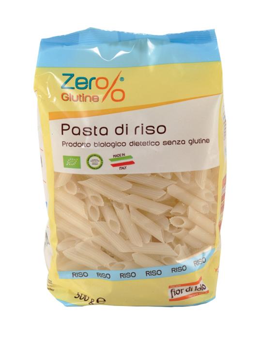 Zero% Glutine Penne Di Riso Biologico 500g