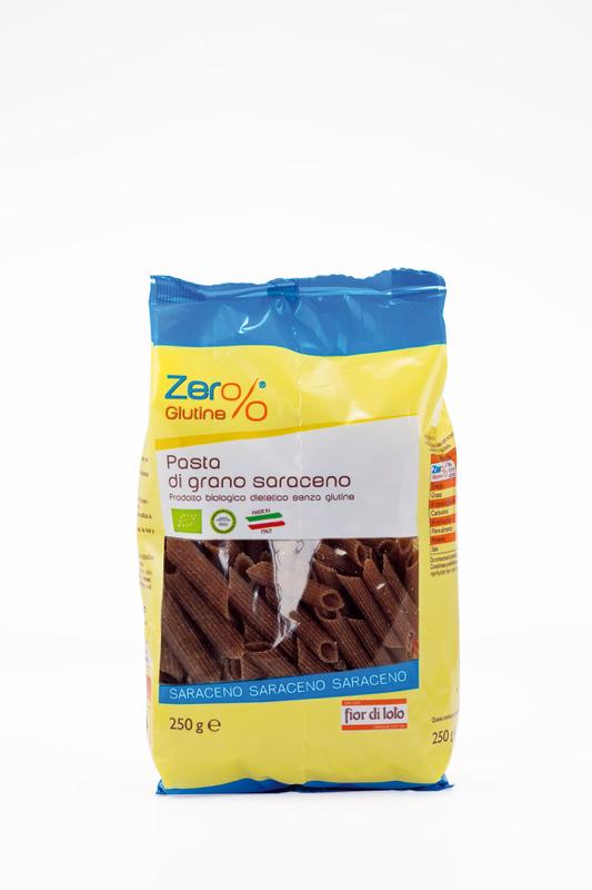 Zero Glutine Penne Di Grano Saraceno Biologico 250g