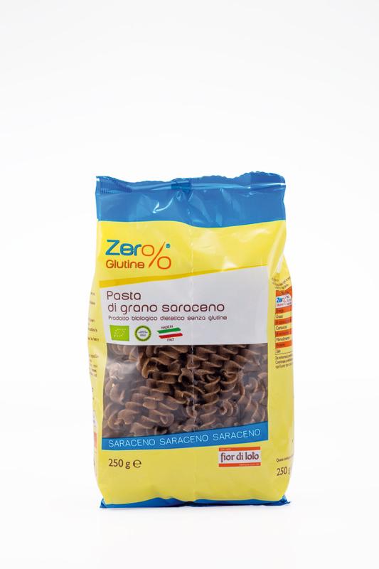 Zero% Glutine Fusilli Al Grano Saraceno Senza Glutine 250g