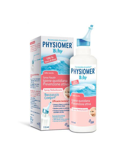 Physiomer Baby Igiene Quotidiana Prevenzione Attiva Spray Nasale 115ml