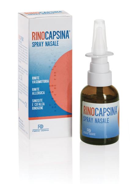 Image of Farma-Derma Rinocapsina Spray Nasale 30ml 931342000