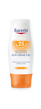 Image of Eucerin Allergy Protection Sun Creme-Gel Crema Solare FP 25 931443648