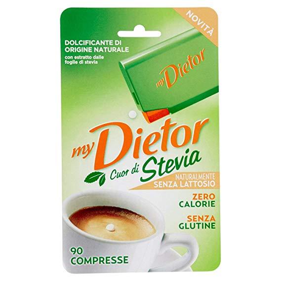 Image of Dietor Cuore Naturale 90cpr Estratto Foglie di Stevia 931500209
