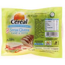 Cereal Pane A Fette Senza Glutine 200g