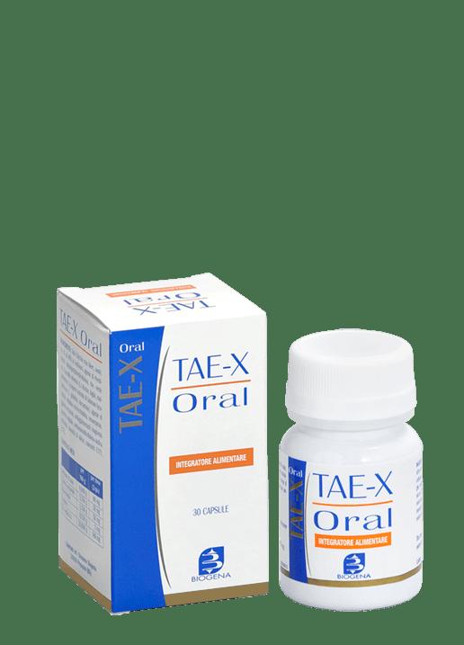 Biogena Tae X Oral Integratore Alimentare 30 Capsule