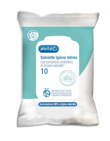 Image of Alvita Salviette Igiene Intima 10 Pezzi 931777318