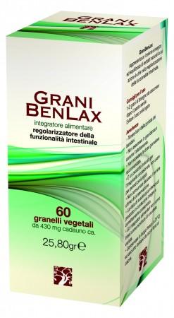 Abros Grani Benlax Integratore Alimentare 60 Grani Vegetali 25,80g