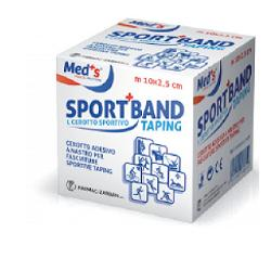 Med's Sport Band Cerotto Sportivo Taping 10m x 3,8cm