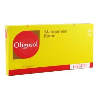 Labcatal Oligoelementi Manganesio/Rame 28 Fiale Da 2ML