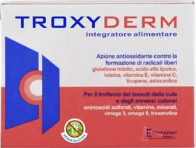 Ecofarm Troxyderm Integratore Alimentare Senza Glutine 15 Compresse