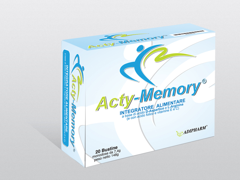 Image of Acty Memory Integratore Alimentare 20 Bustine 932525191