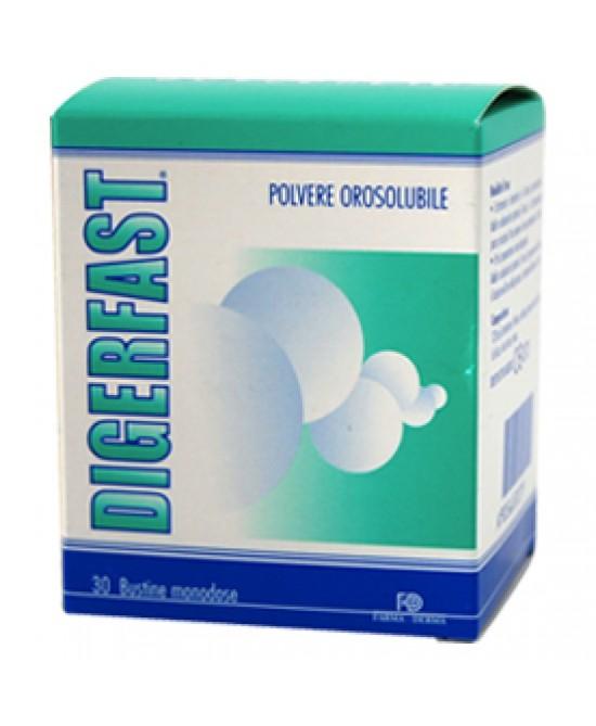 Image of Digerfast Polvere DIspositivo Medico 24 Bustine Da 2g 932654585