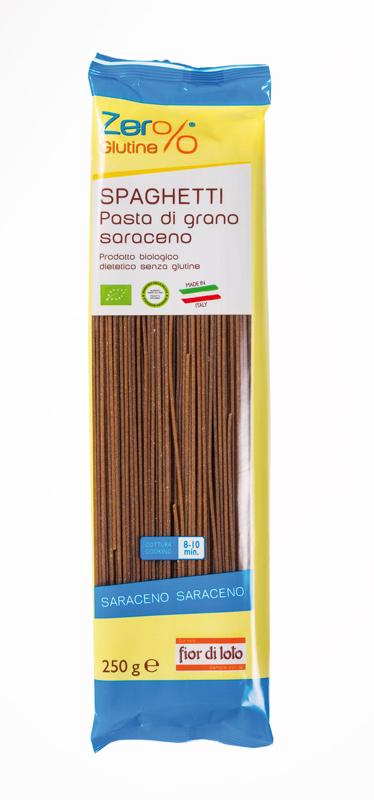 Zero% Glutine Spaghetti Di Grano Saraceno Biologico 250g