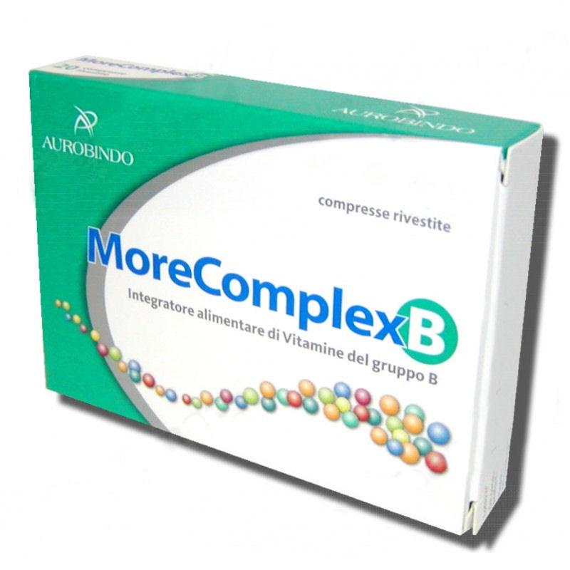 Image of MoreComplex B Integratore Alimentare 40 Compresse 932997620