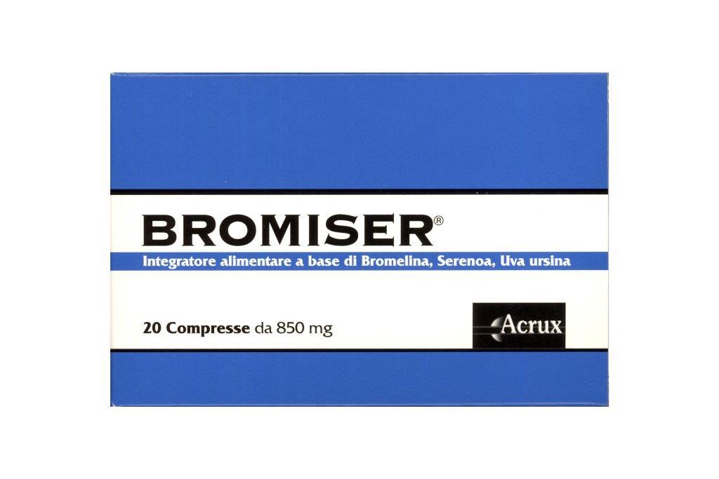 Image of Acrux Bromiser Integratore Alimentare 20 Compresse Da 850mg 933204620