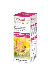 Montefarmaco OTC Propoli Mix Defend Spray Orale Junior Integratore Alimentare 30ml