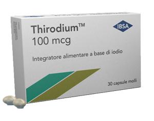 Image of Ibsa Thirodium 100mcg Integratore Alimentare 30 Capsule 933454391