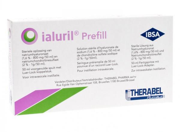 Image of Ibsa Farmaceutici Ialuril Prefill 1 Siringa Da 50ml 933534719
