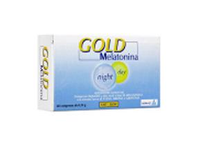 Image of Alcka Med Gold Melatonina Night Day - Integratori 60 Compresse da 1 mg 933541942