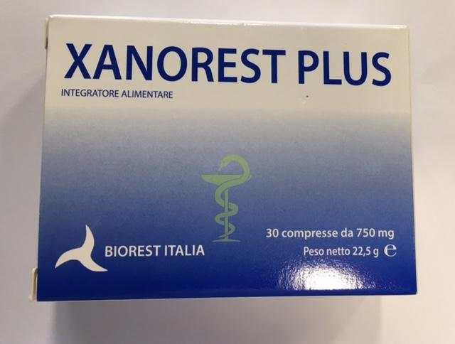 Image of Biorest Italia Xanorest Plus Integratore Alimentare 30 Compresse 933807226