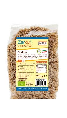 Il Fior Di Loto Zero% Glutine Stelline Di Grano Saraceno Biologico Senza Glutine 250g