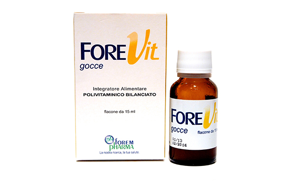 Image of Forevit Bambini 3m+ Gocce 15ml 933906467