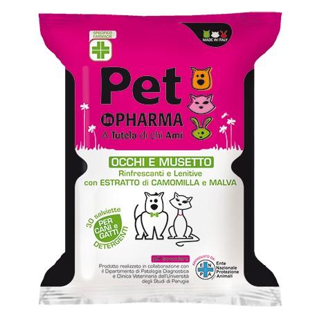 Image of Diva Pet In Pharma Salviette Occhi E Musetto 30 Pezzi 934046691