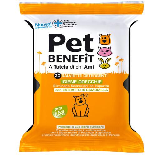 Image of Diva Pet Benefit Salviette Igiene Orecchie 30 Pezzi 934046703